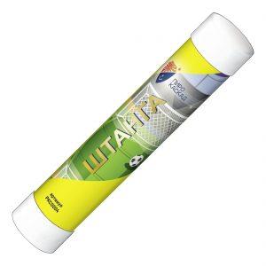 Цветной дым, факел дымовой ШТАНГА (желтый)